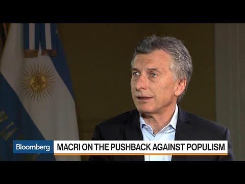 Macri Says Argentina's Economy Has Turned the Corner