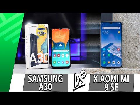 Samsung A30 VS Xiaomi Mi 9 SE | Enfrentamiento | Top Pulso