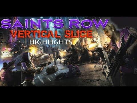 Saints Row GDC (2015) Vertical Slice Highlights