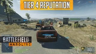 Battlefield Hardline: How to Earn Tier 4 Reputation Track Solo or With a Hacker