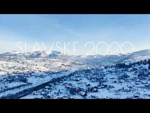 Славське з висоти і наші покатушки - Новий Рік в Карпатах 2020