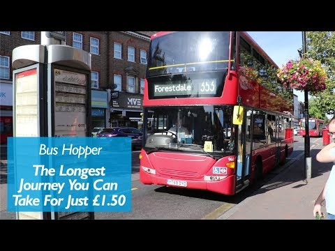 The Furthest You Can Travel On A £1.50 Bus Hopper
