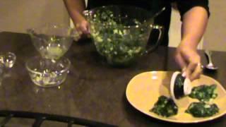 Gluten Free Recipes - Spinach Patties