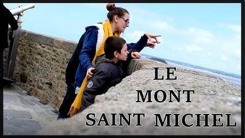 PETIT TOUR AU MONT SAINT MICHEL 🌍🥰
