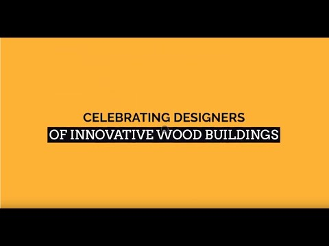 2019 Wood Design Awards - Categories and Introduction