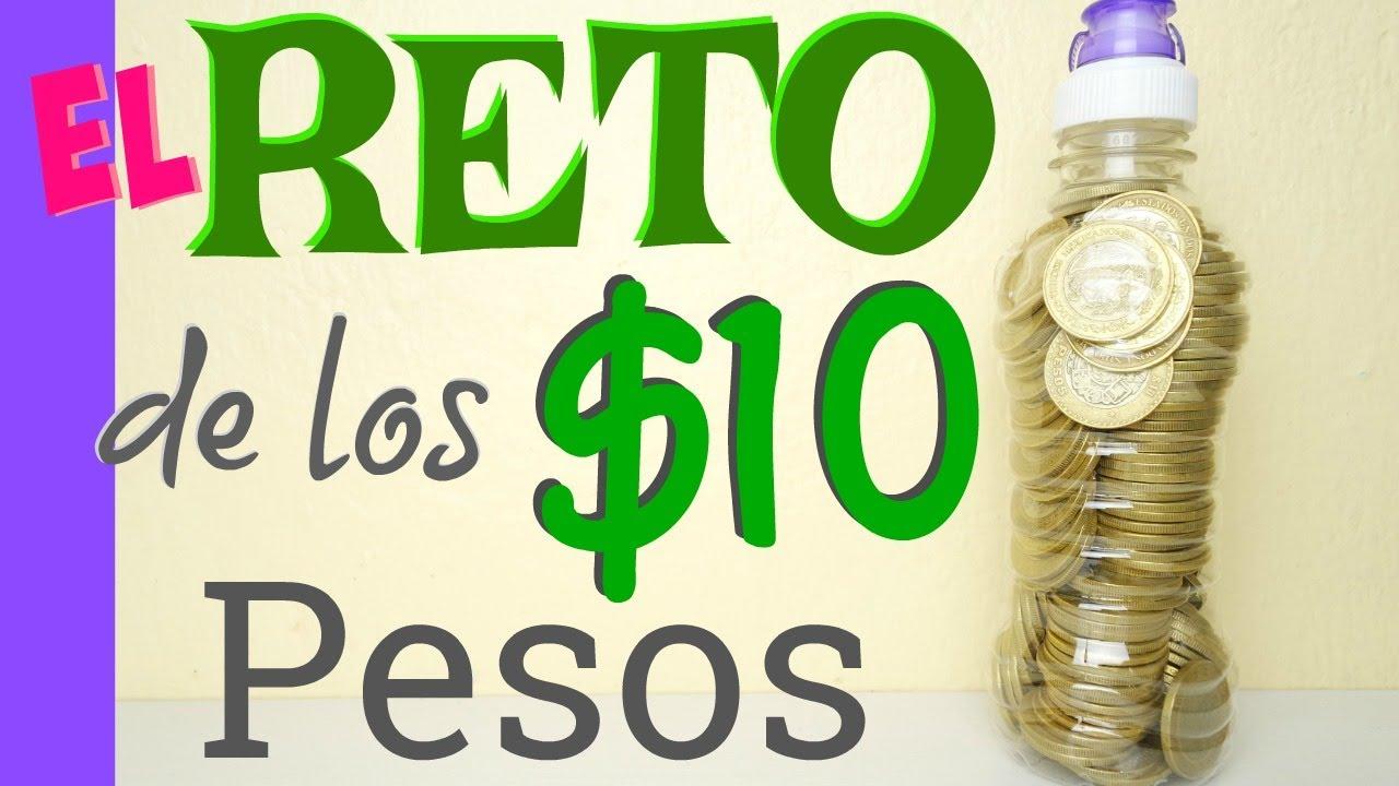 El reto de los 10 pesos en mini botellita cuantas monedas for Cuanto peso aguanta un cuelga facil