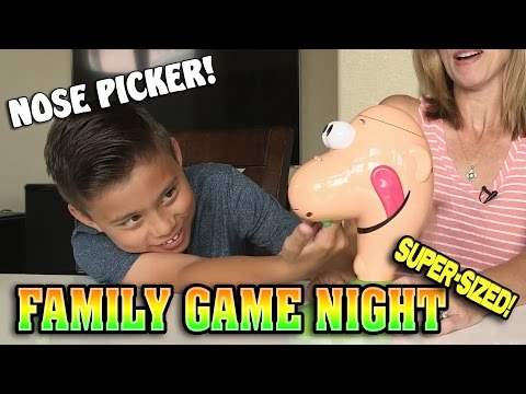 FAMILY GAME NIGHT EXPLOSION!!! 1 Hour of Fun Family Games! [SUPER SIZE ME WEEK]