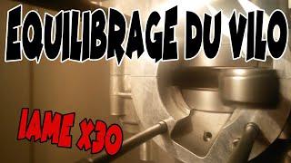 Vilebrequin X30 Iame réglé à 1/100ième