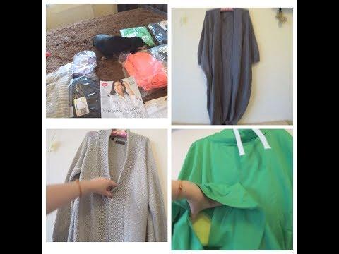 Обзор двух посылок  с одеждой из интернет магазина  Bonprix. Бонпри