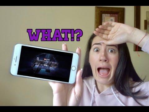 Avengers: Endgame - Official Trailer 2 Reaction