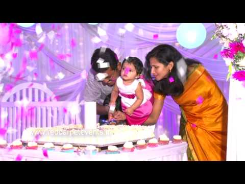 Birthday celebration party organiser purple theme.MP4