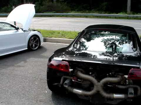 Exclusive!! Audi TT RS, Golf R engine swap Worlds first!!