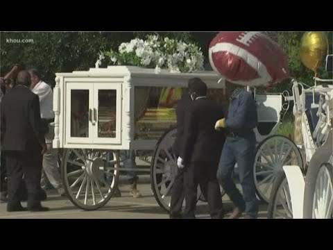 Body Of George Floyd Transferred To Horse-drawn Carriage For Final Mile To Burial
