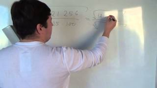 Алгебра 8 класс. Корень от сложной дроби