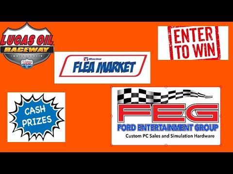 FEG presents the (IFM) iRacing Flea Market Race 8: Lucas Oil Speedway