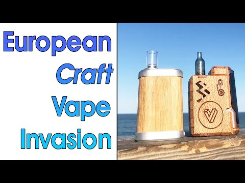 TinyMight Vaporizer Vs Tetra P80 - European Craft Herb Vape Comparison