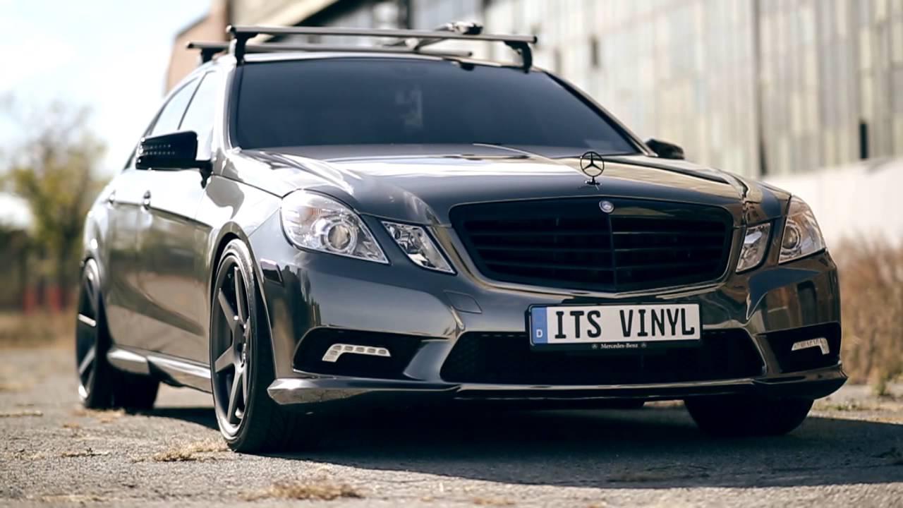 Phenomenal Benz Black Chrome Vinyl Wrap Youtube