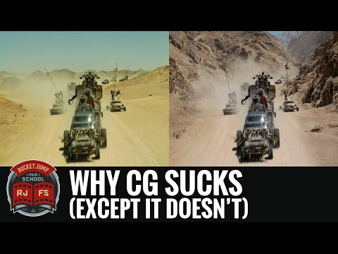 We think CGI sucks because we only notice bad CGI