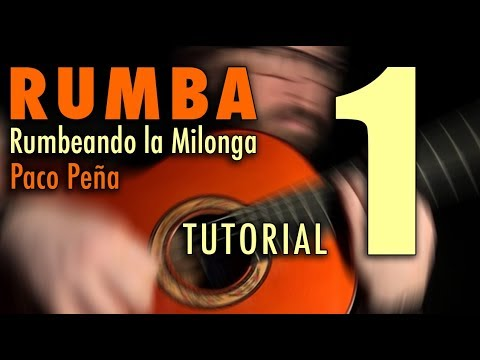 Rumbeando La Milonga (Rumba) - 1 By Paco Peña