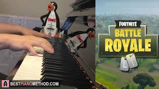 Fortnite Battle Royale - Main Menu Theme (Piano Cover by Amosdoll)