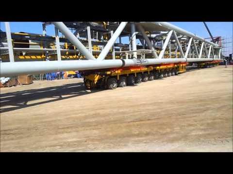 320 Ton load lift operation.wmv