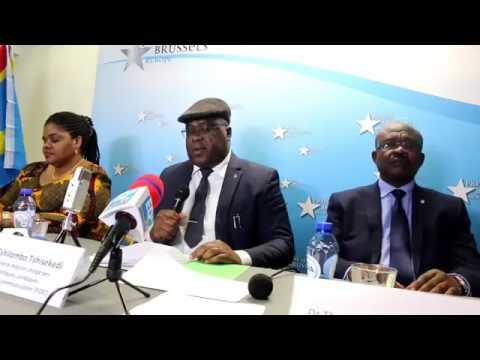 Félix TSHISEKEDI asali plein na Conférence de Presse na Bruxelles. Abimisi ba Secrets ya K