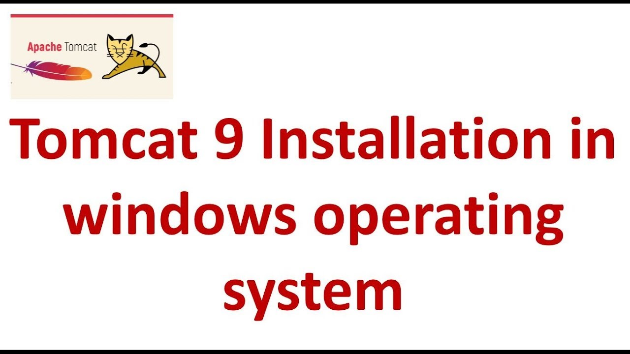 How to install Tomcat 9 in windows operating system? | Tomcat 9  Installation | Tomcat