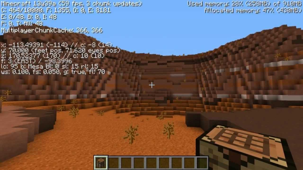 how to find red sand in minecraft