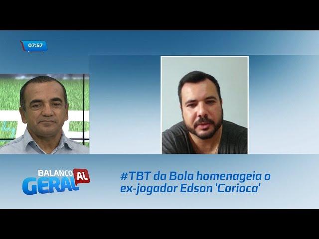 #TBT da Bola homenageia o ex-jogador Edson 'Carioca'