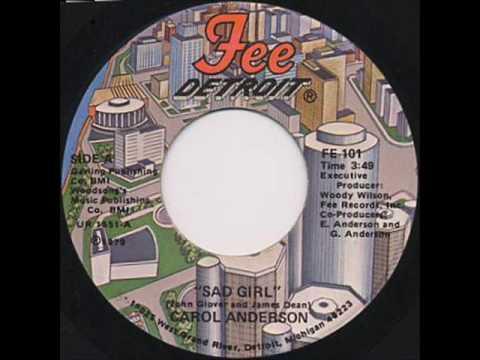 Carol Anderson - Sad Girl