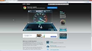 Google Fiber - Speed Test