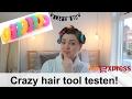 Aliexpress haar rollers testen! | Girlonthewhitebike