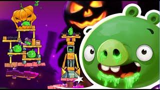 Angry Birds 2 - Halloween Theme Snotting Hill Level 286 - 290 Walkthrough 3 Stars!