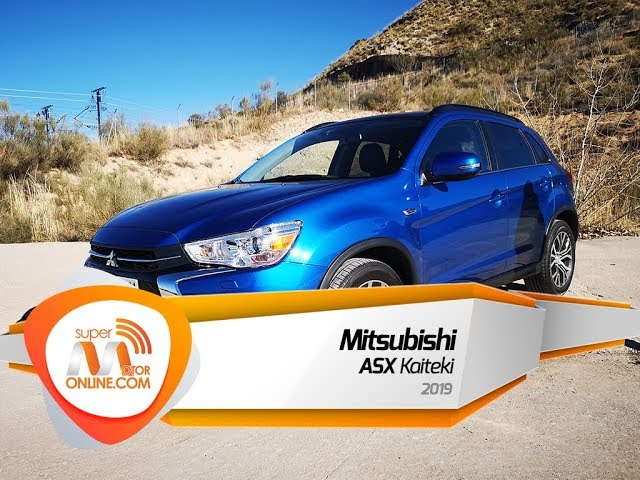 Mitsubishi ASX 2019 / Al volante / Prueba dinámica / Review / Supermotoronline.com