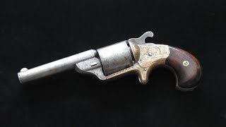 Antique Moore's Pat. Fire Arms Co - Teat-fire revolver