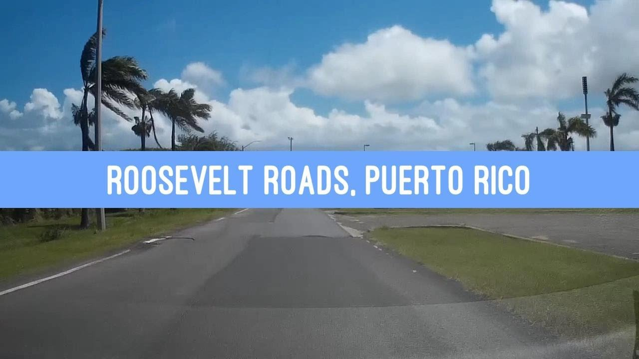Puerto Rico Map World%0A Driving through Roosevelt Roads Naval Station in Puerto Rico