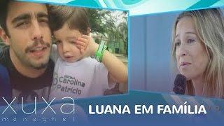 Luana Piovani recebe recadinho da família