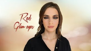 Glam Red Eyes | Roula Stamatopoulou