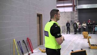 Cheshire Police Volatile/tactile  Entry Training(1/2)