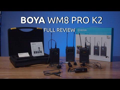 Boya BY-WM8 Pro K2 - Pełny przegląd, testy, recenzja
