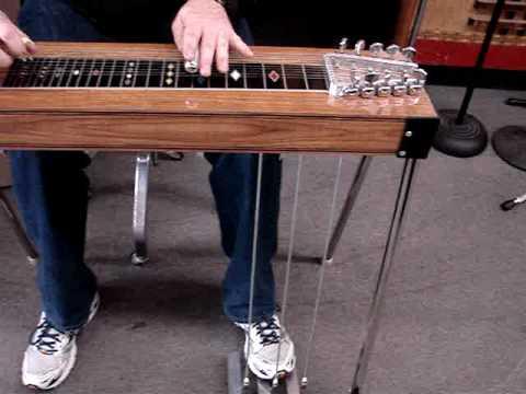 Vintage pedal steel guitar zum