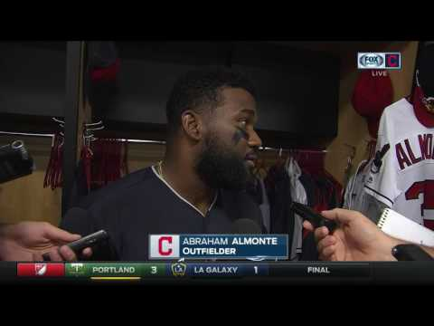 Abraham Almonte Says He Should've Caught Ellsbury's Fly Ball To Keep Cleveland Indians In Game