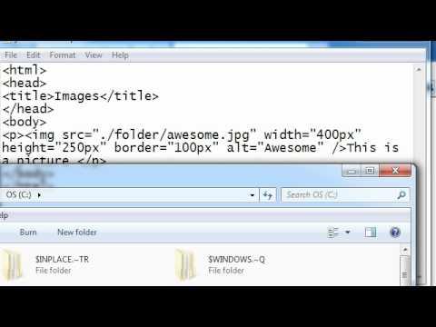 HTML 7: Files Paths