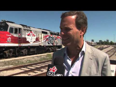 Grey Cup 100 Tour Preview: CFL Commissioner Mark Cohon 1-on-1