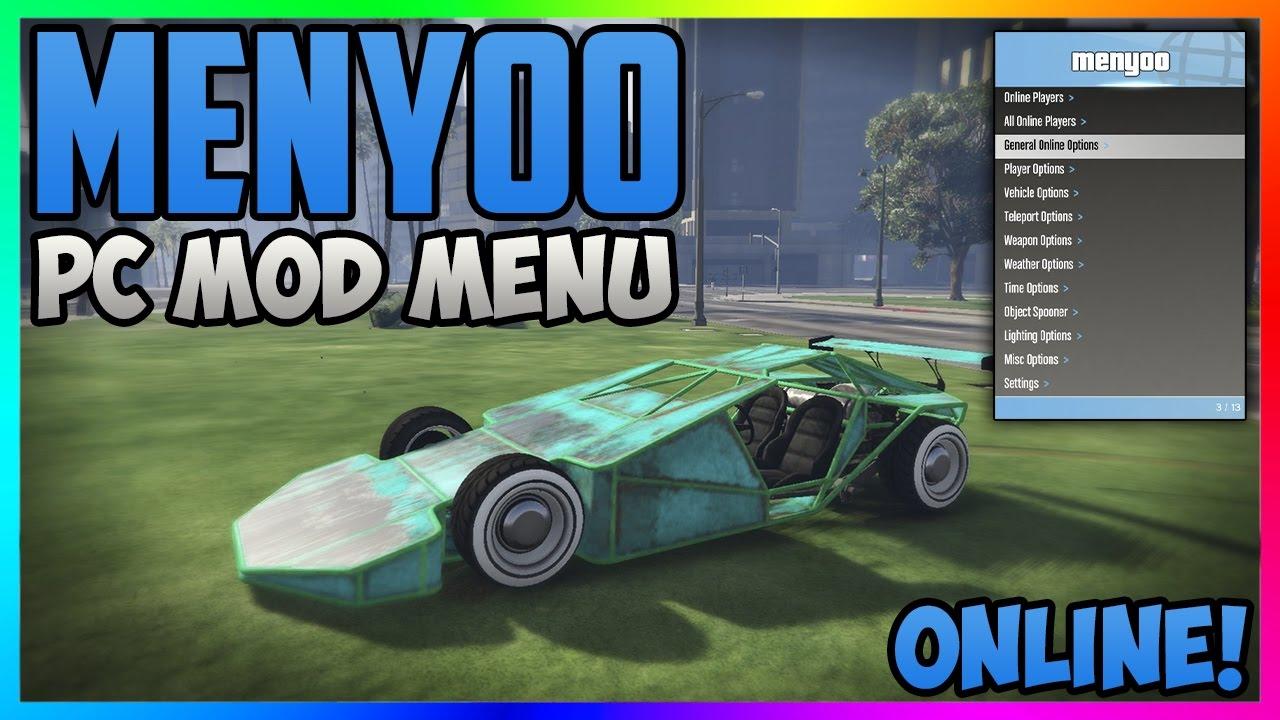 Menyoo gta 5 mod menu