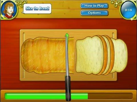 เกมส์ทำอาหาร แซนด์วิชเบคอนอะโวคาโด - avocado bacon Sandwich Cooking Game サンドイッチ,샌드위치