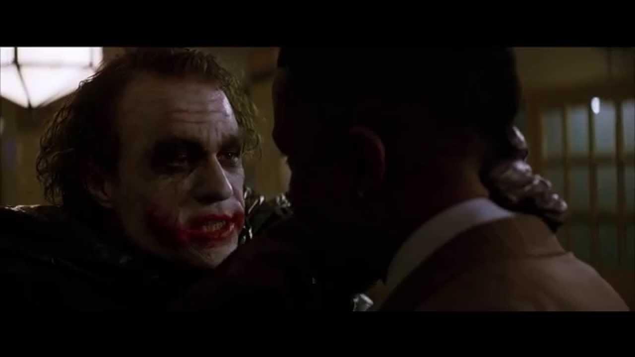 Joker - Why So Serious? Scene HD - YouTube