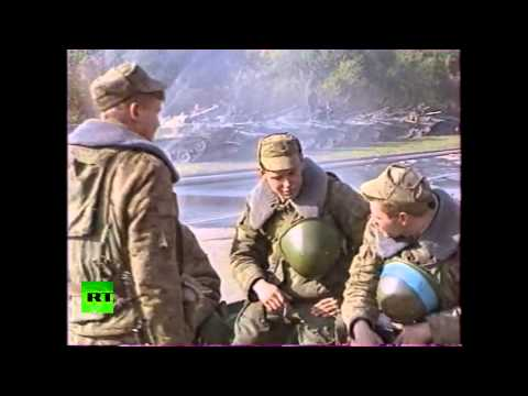 #1993coup: Video of Russian Parliament siege aftermath