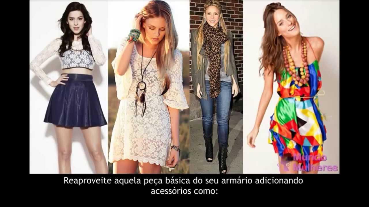 Conheça as roupas femininas que estão na moda e como importar roupas de  marca - YouTube 2cf554aedf6a7