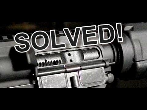 AR-15 Short-Stroke problem   SOLVED!